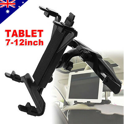 Universal Car Seat Headrest Mount Holder For iPad Pro Mini Samsung Tablet 7-12""