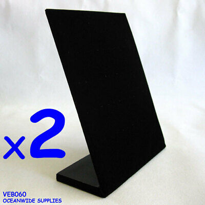 NEW 2X Stud Earring Display Holder Stand-Black Velvet-Padded | AUSSIE Seller