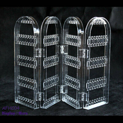 Earring Holder Stand | Clear ACRYLIC | 4 Fold Arch | AUSSIE Seller