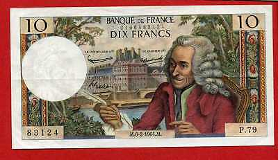 (Ref: P.79) 10 FRANCS VOLTAIRE 6/02/1964 (NEUF)