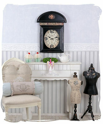 Vintage Watch English Phone Booth Wall Clock Antique Style • £21.02