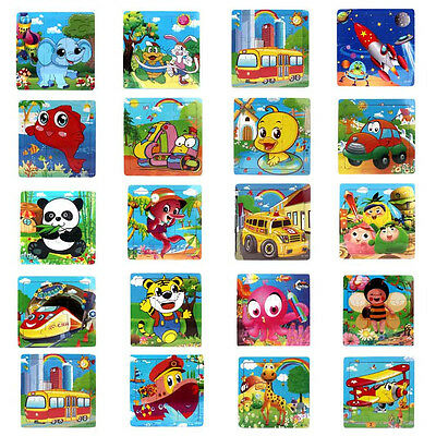 Wooden Kids Jigsaw Toys Children Education And Learning Puzzles Toys Xmas Gift
