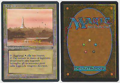 MTG MAGIC - Karakas - Italian Leggende Legends 1995 - NEW MINT