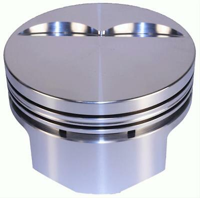 DSS Racing Pistons Forged Flat 4.030 in. Bore 350 Chevy Set of 8