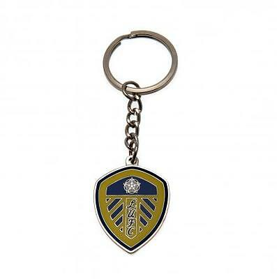 Official Licensed Football Club Leeds United Keyring Key Ring Gift Crest Fan New