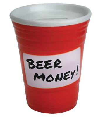 Beer Money Party Cup Coin Bank