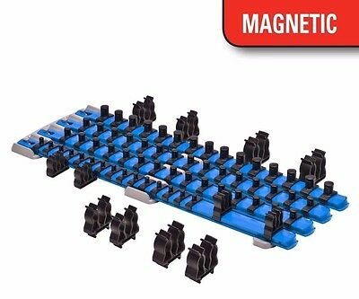 Ernst 8471  Magnetic Twist Lock Complete Socket System - Blue