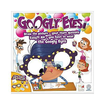 Googly Eyes Wacky Vision-Altering Glasses Funny Board Game