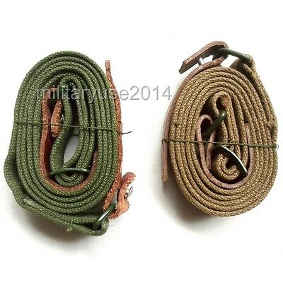 Two Pieces Surplus Original Chinese China army PLA Type 56 canvas SKS  AK Sling