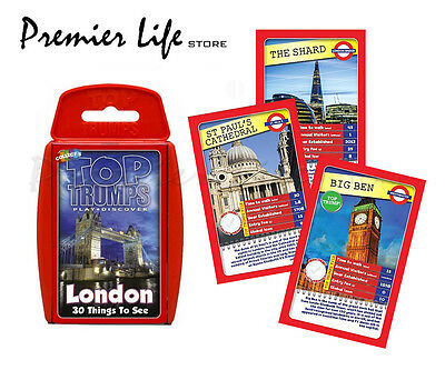 Top Trumps - London 30 Things To See