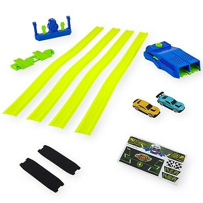Fast Lane Drag Race Launcher Set, Toy Car Racing Playset