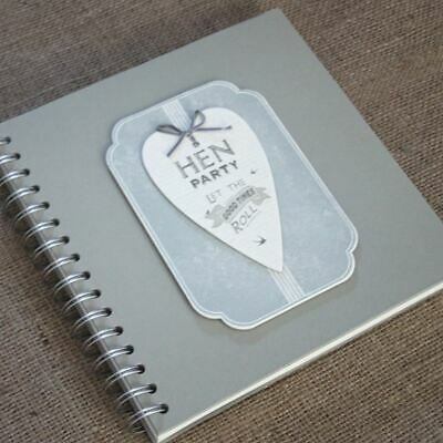 East of India 'Hen Party' Guest Book Album / Keepsake 'Let the good times roll'