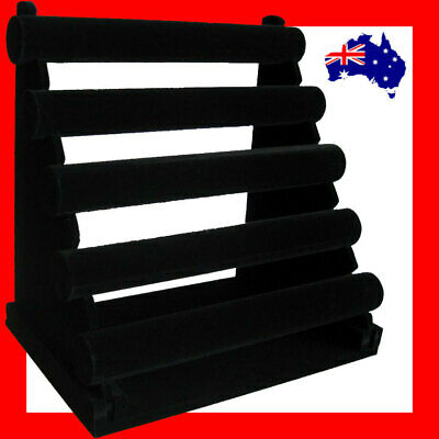 LARGE 5 Tiers Bracelet Watch Display Holder Organiser-Black | AUSSIE Seller