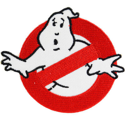 Ghostbusters Iron On Patch Sew Movie Cosplay Film 80s Logo