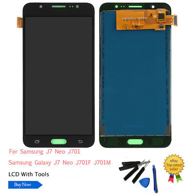 LCD Display Screen Touch Digitizer Replace For Samsung Galaxy J7 Neo J701F J701M
