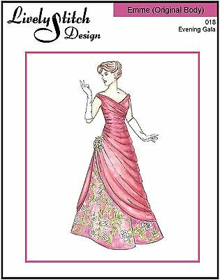 Evening Gala / sewing pattern for the Emme (Original Body) doll by Tonner