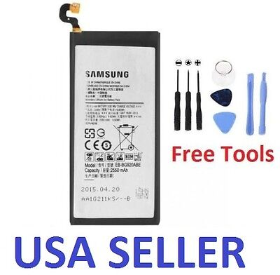 New Internal Replacement Battery for Samsung Galaxy S6 SM-G920 with Tools
