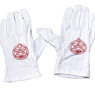 Anime Fullmetal Alchemist Colonel Roy Pure Cotton cosplay full finger gloves NEW