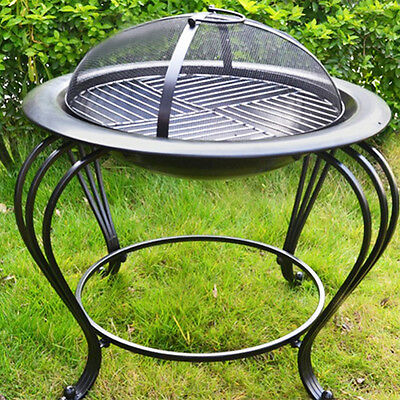 Outdoor Fire Pit Patio Furniture Heater Wood Fireplace convenient life picnic