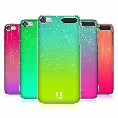 HEAD CASE DESIGNS NEON RAIN OMBRE HARD BACK CASE FOR APPLE iPOD TOUCH MP3