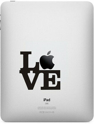 Stickers Love New York Pour Ipad Air Mini Pro 1/2/3/4 Retina Autocollants Decal
