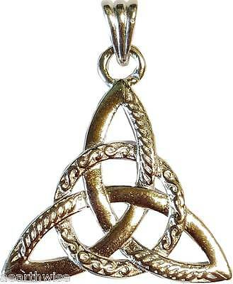 TRIQUETRA PENDANT - Wicca Pagan Witch Goth Charmed