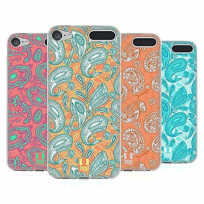 HEAD CASE DESIGNS PAISLEY ANIMALS SOFT GEL CASE FOR APPLE iPOD TOUCH MP3