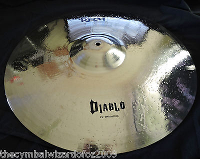 Rech Diablo 21'' Crash Ride Cymbal - Aussie Owned