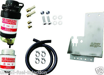 FUEL MANAGER Diesel Filter Kit FMHILUXDPK Toyota Hilux. 30 MICRON KIT
