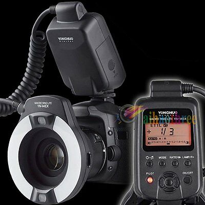 YONGNUO YN-14EX TTL Macro Ring LED Flash Speedlite Light For Canon Camera【AU】