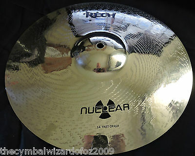Rech Nuclear 14'' Fast Crash Cymbal - Aussie Owned