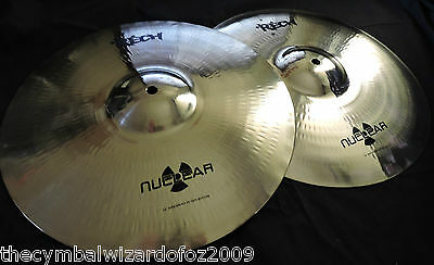 Rech Nuclear 14'' Shockwave Hi Hat Cymbals - Aussie Owned