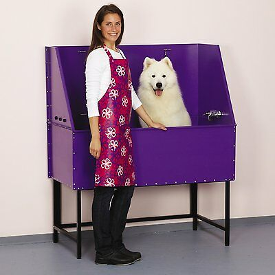 Master Equipment Everyday ProTub 48In Purple  Pet Grooming Tub TP364-48-79 NEW