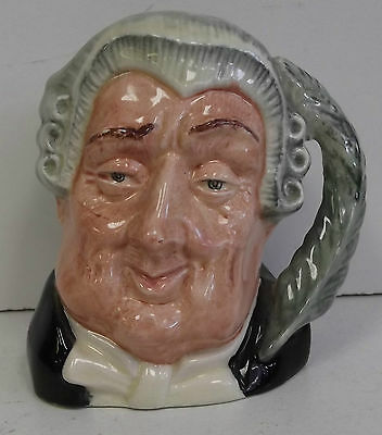 The Lawyer D6504 Royal Doulton Toby Jug. 1958