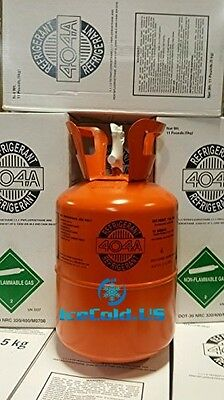 R404A 11Lb Refrigerant, 404A, R404A Easy To Carry 11Lb Cylinder