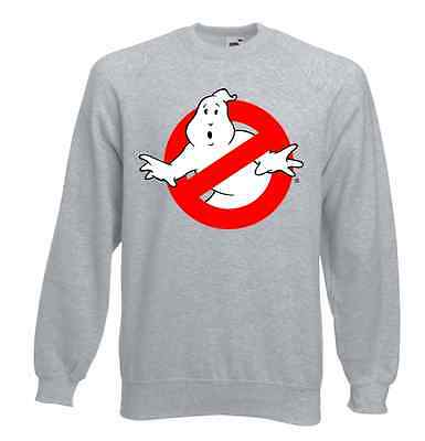 Ghostbusters Movie Sweatshirt Jumper All Sizes Brand New Retro Style