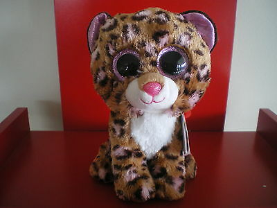 Ty Beanie Boos PATCHES the leopard 6 inch  NWMT.  BRAND NEW JUST ARRIVED..