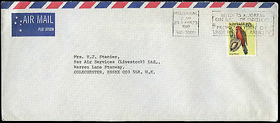 Australia 1980 Commercial Airmail Cover To England #C31674