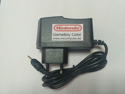 Transformador Game Boy Color y Pocket, fuente alimentación power supply cargador