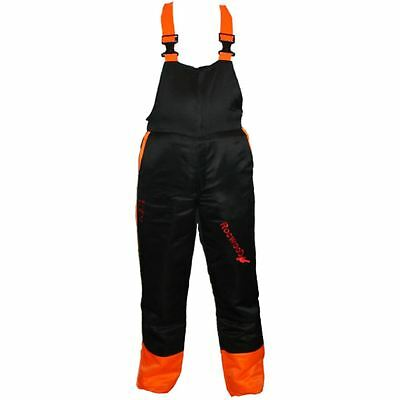 "Rocwood Chainsaw Forestry Safety Bib & Brace / Trousers Large 36"" - 38"""