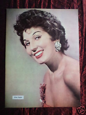 Alma Cogan - Music Artist -1 Page Picture - Clipping / Cutting