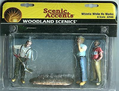 G Scale:  Woodland Scenics 2568: Whistle While He Works