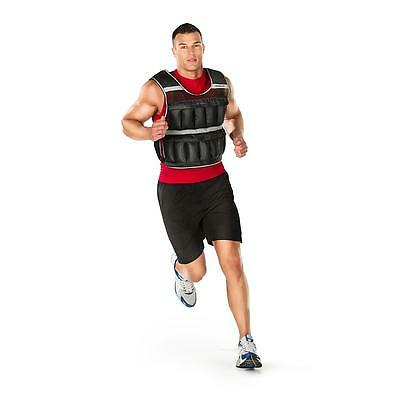 WEIDER 20 lb Adjustable Weighted Vest Exercise Training Fitness Weight Vest NEW!
