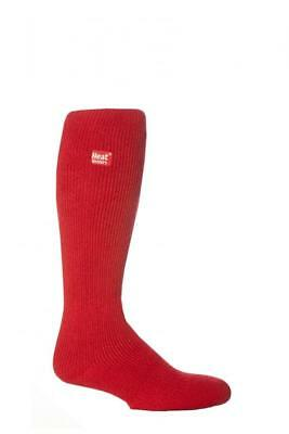 Heatholders Childrens Kids RED Socks 9 - 11/2 Long Length