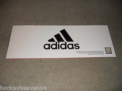 Adidas Store Front Flat Sign 25 in long x 9 in high