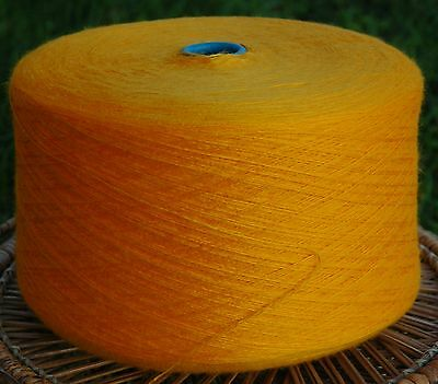 Knitting Machine Yarn or Hand Knit 3ply 2/12s 1.6 Kilos Acrylic Amber IND20.02