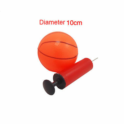 Kids Childrens Toy Mini Basketball Ball And Pump Pet Dog Play Toy Ball