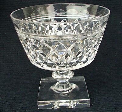 Set 10 Pairpoint Crystal Serving Dishes With Ice Cups Shrimp Compote