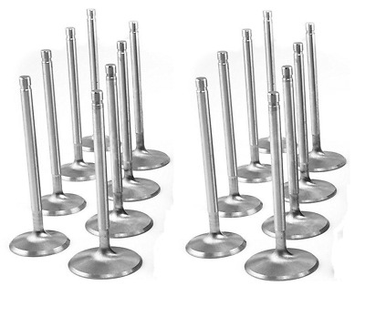 NEW 21-2N Stainless Intake+Exhaust Valve Set/12 For Corvair 164 140HP