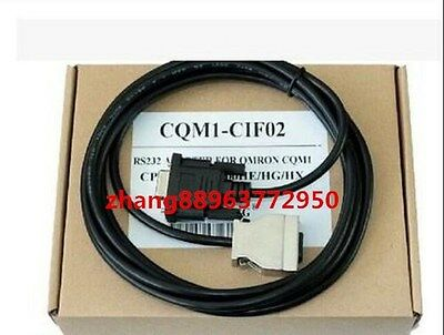 NEW IN BOX  For Omron CQM1-CIF02 PLC Programming RS232 Cable 0JK1